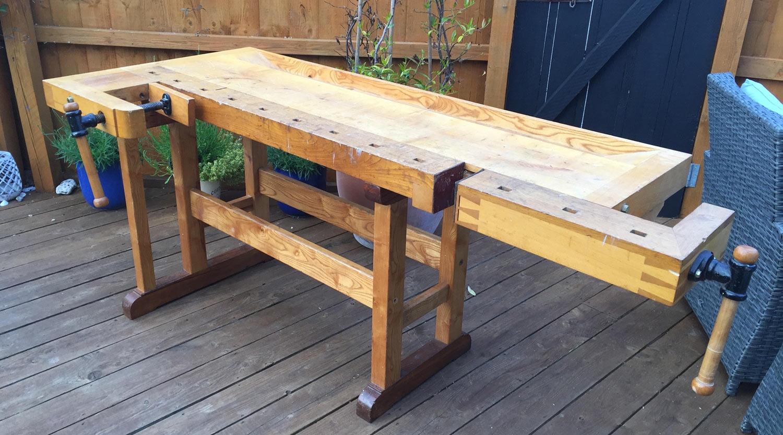 Frank Klaus design handmade workbench