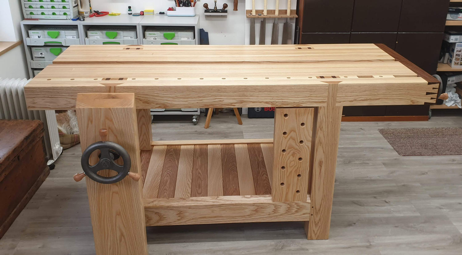 custom handmade workbench