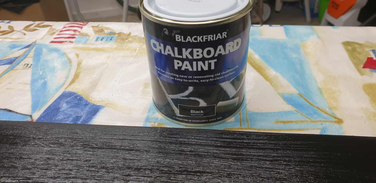 picture frame making cornwall chalkboard paint