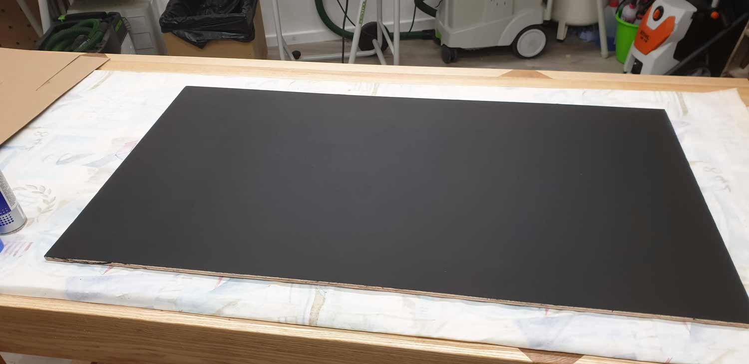picture frame making cornwall chalkboard paint2
