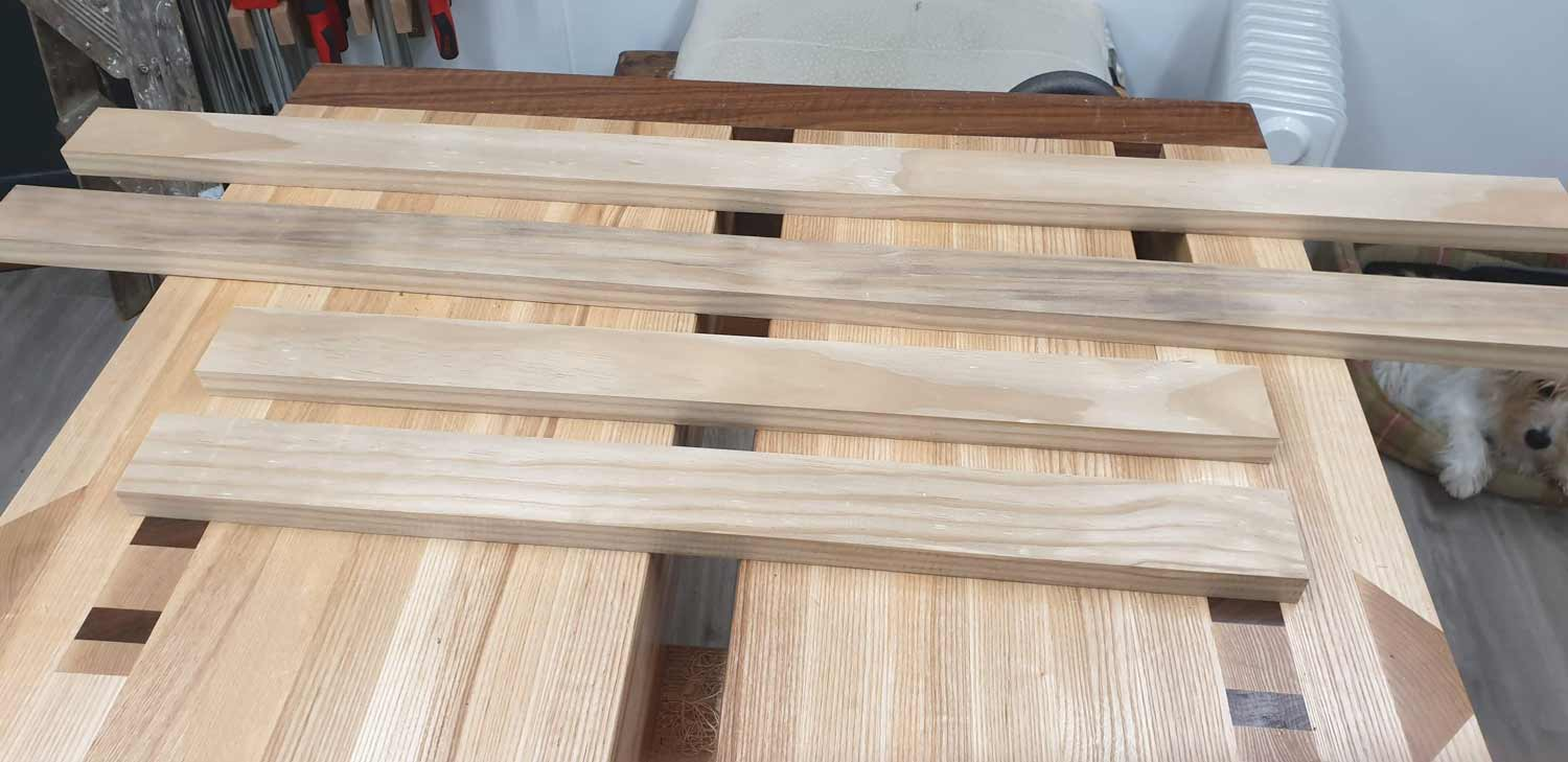 picture frame making cornwall wood cut and sanded